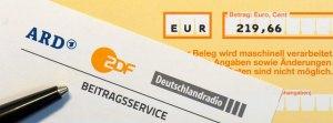 Rundfunkgeb¸hren ARD und ZDF